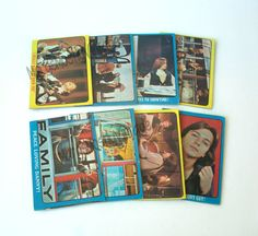 Lot of 8 Partridge Family Trade Cards by MargsMostlyVintage Family Bulletin Boards, Family Boards, Family Board Games, Partridge Family, Get Happy, Columbia Pictures, David Cassidy, Team Gifts, Poster On
