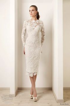 Embroidered guipure lace. Rami Kadi.
