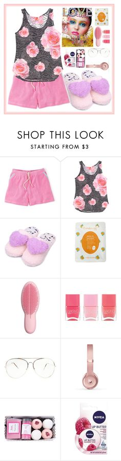 """Lazy Day #2"" by af1nda ❤ liked on Polyvore featuring Boden, Barcode Apparel, Tangle Teezer, Nails Inc., Beats by Dr. Dre and Nivea"