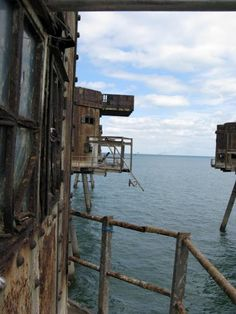 The rusty Maunsell Forts
