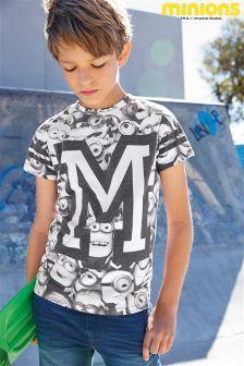 Mono All Over Print Minions T-Shirt (3-12yrs)