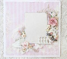 Scrap Decor Анастасия Хаджи: Рамка на свадьбу