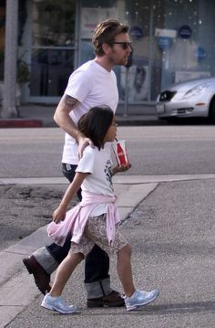 Ewan and his daughter.