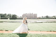 Mira Zwillinger New Charlie Elegant English Longleat Wedding with Plenty of Personal Touches | Junebug Weddings