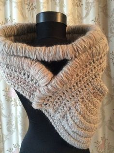 Sale Huntress cowl  wool vest accessorize  ready to by JoJOZoo