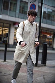 The strongest looks on the street at London Collections Men A/W '16