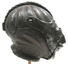helmet, armet m mesh visor
