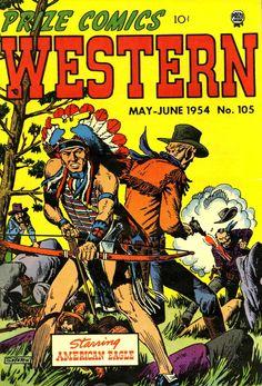 Prize Comics Western v13 2 (105) (Prize) - Comic Book Plus