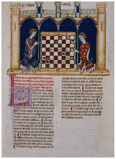 Alfonso X Book of Games. 44f