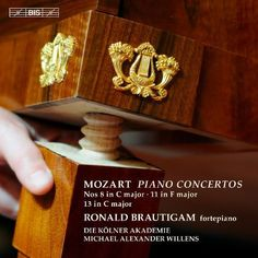 Mozart: Piano Concertos Nos. 8 in C major, 11 in F major, 13 in C major [Super Audio Hybrid CD]