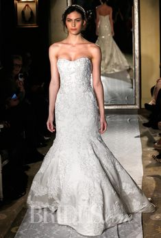 Oleg Cassini Wedding Dresses Spring 2015 Bridal Runway Shows Brides.com | Wedding Dresses Style | Brides.com