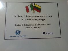 what a success!!!!  #B2B Strive in Vilnius with Lithuanian Buyers and Italian companies