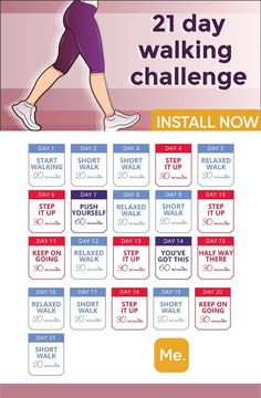 ‎BetterMe: Walking & Weightloss You need just 21 days to make the body absolutely fit! The walking plan will help you to create the perfect body in 1 month! Walking Challenge below makes your dream come true! Walking Challenge, Walking Plan, Weight Loss Challenge, Weight Loss Plans, 21 Day Challenge, Squat Challenge, Health Challenge, Monthly Workout Challenge, 1 Month Workout Plan