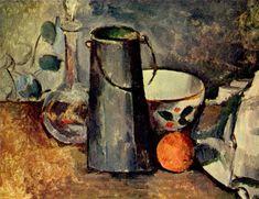 Still life, 1879, Paul Cezanne Medium: oil on canvas