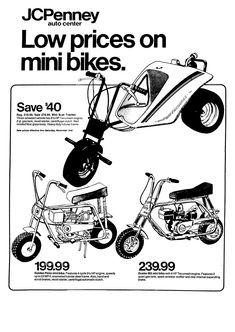 1971 Rupp Scrambler....Loved this Mini-Bike Emerald Green