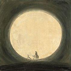 """Norbert Schwontkowski (German, 1949 – 2013) - """"Mond"""" (Moon), 1998"""