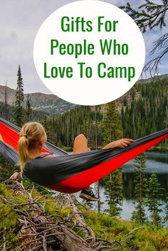 A great assortment of gifts for people who love to camp. Cool camping accessories and ideas for the camper who has everything.