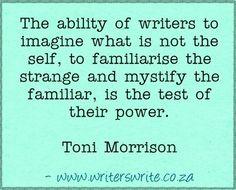 Quotable - Toni Morrison