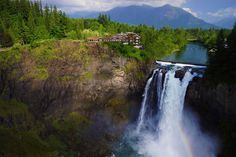 Salish Lodge & Spa - Snoqualmie, Wa Be sure to: request riverside quarters, sign up for Yoga by the Falls, get a full body massage, and drink honey cider.