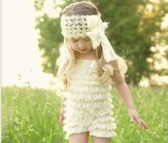 Baby Headband  white  Flower Headbands  Infant by BabyCafeNmore, $8.50