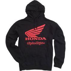 3c20a06cea263 Troy Lee Designs Honda Wing Hoody - Chaparral Motorsports