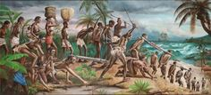 The Maafa. It's interesting that the break down of the African community occurred before American slavery. We sold our own ppl and neighboring, rival tribes into slavery and then it became global.