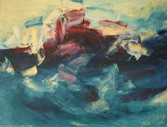 Artwork >> Lyuba Zahova >> The Wave I