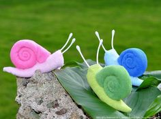 Other: Baby Washcloth Snail