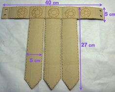 disfraz romano casero nino cinturon