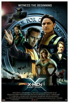 X-Men First Class - my favorite x-men movie