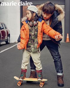 Tablo and Haru - Marie Claire Magazine November Issue '15