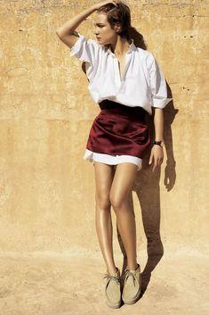 a0658e3bc Title: White Russian Magazine: Vogue US March 2007 Model: Natalia Vodianova  Photographer: