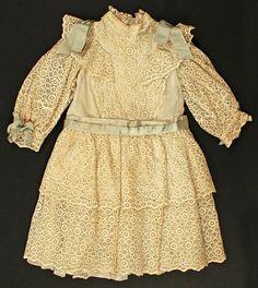 Girl's Dress 1893-1895 The Metropolitan Museum of Art REFUGEE CHILDREN ARE DYING…