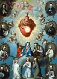 God Jesus, Virgin Mary, Hearts