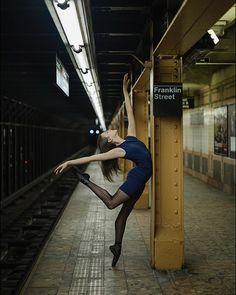 #Ballerina - @wheresmytutu in #Tribeca #NewYorkCity #ballerinaproject_ #ballerinaproject #ballet #dance by ballerinaproject_