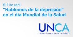 """""""Hablemos de la depresión"""" en el día Mundial de la Salud -  #UNCA #Catamarca #DiaMundialdelaSalud"""