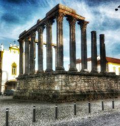 #evora #templodediana #portugal