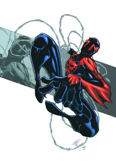 Spiderman 2099 by RecklessHero.deviantart.com on @deviantART