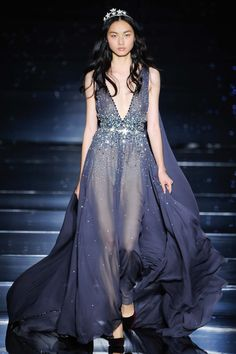 Zuhair Murad Haute Couture Fall/Winter 2015. Paris Fashion Week.