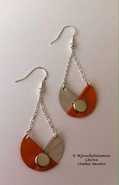 Handmade: three quarter Nespresso earrings by Bijouxfaitalamain13