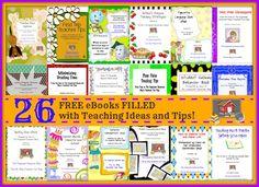 26 FREE Teacher eBooks! - The Organized Classroom Blog