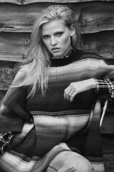 Lara Stone Gets Real About Life as a Model in This Month's The Edit
