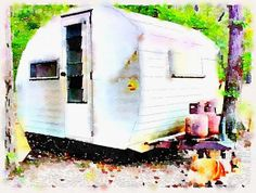 1965 little gem bugg #vintage #camper