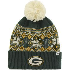 NEED...Green Bay Packers Women's Hanover Cuff Knit Hat at the Packers Pro Shop http://www.packersproshop.com/sku/8102022004/