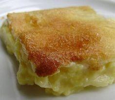 Ψημένη κρέμα με μήλα και καραμέλα