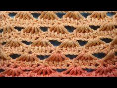 Начинаем вязать – Видео уроки вязания » Ажурный узор – Тунисское вязание – Узор №61