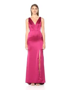 Girly Outfits, Stylish Outfits, Cute Outfits, Bridesmaid Dresses, Prom Dresses, Formal Dresses, High Slit Dress, Silky Dress, Bridal Gowns