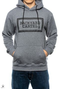 Bluza Kaptur Backyard Cartel Label Logo