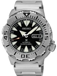 Seiko 2nd Generation Black Monster with new 24-Jewel Automatic Movement #SRP307K1