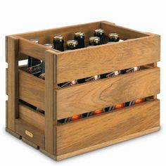 Skagerak (Denmark) teak beer crates
